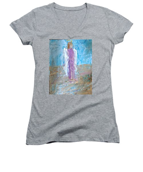 Angel With Confidence Women's V-Neck