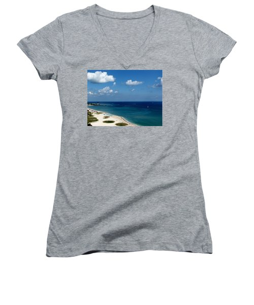 Angela's Getaway Women's V-Neck T-Shirt