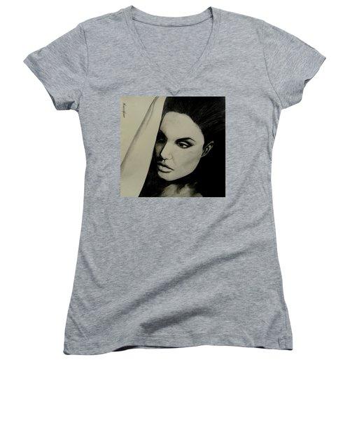 Angelina Women's V-Neck