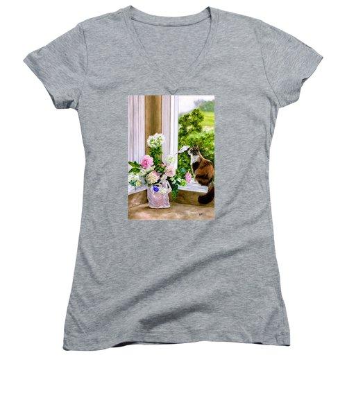 Anika Women's V-Neck T-Shirt