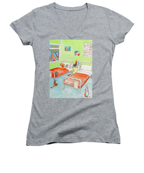 Animals Women's V-Neck T-Shirt