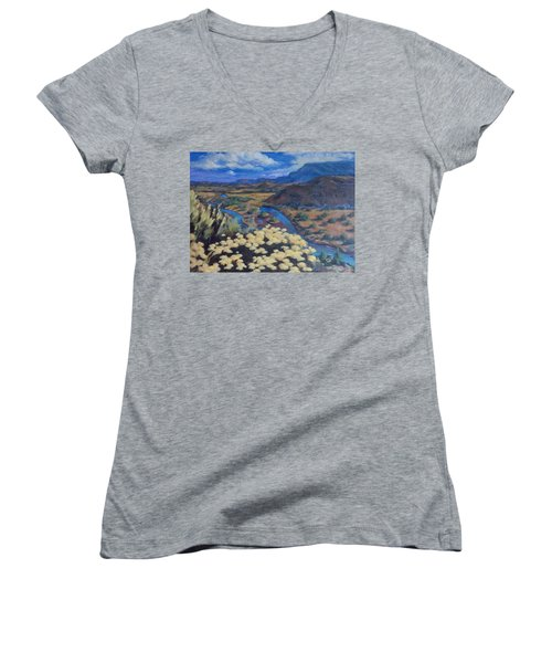 Another Day Above Rio Chama Women's V-Neck