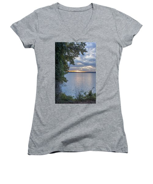 Another Day Women's V-Neck T-Shirt (Junior Cut) by Ricky Dean