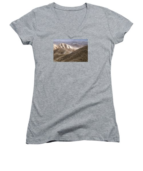 Another View From Masada Women's V-Neck (Athletic Fit)