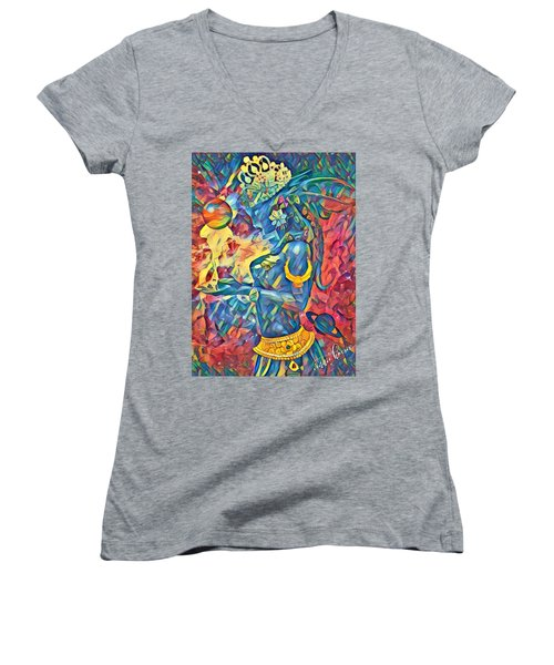Answering The Call Women's V-Neck