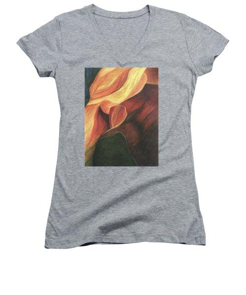 Antelope Canyon 3 Women's V-Neck
