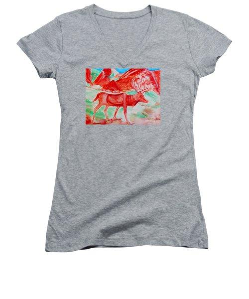 Antelope Save Women's V-Neck