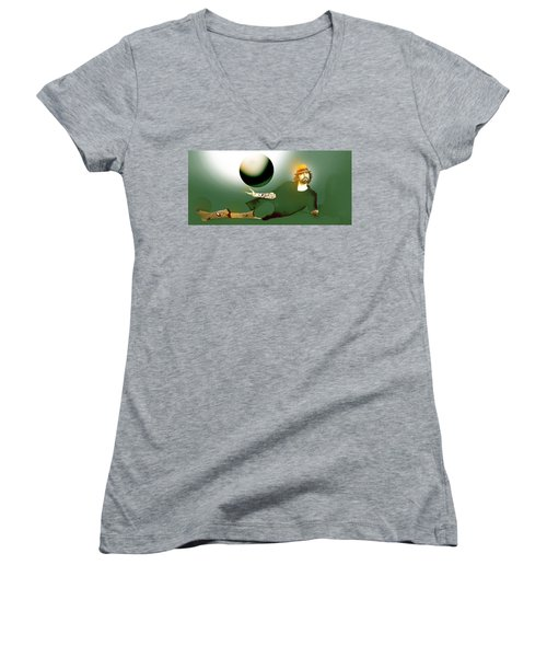 Anti Gravity Flight Women's V-Neck