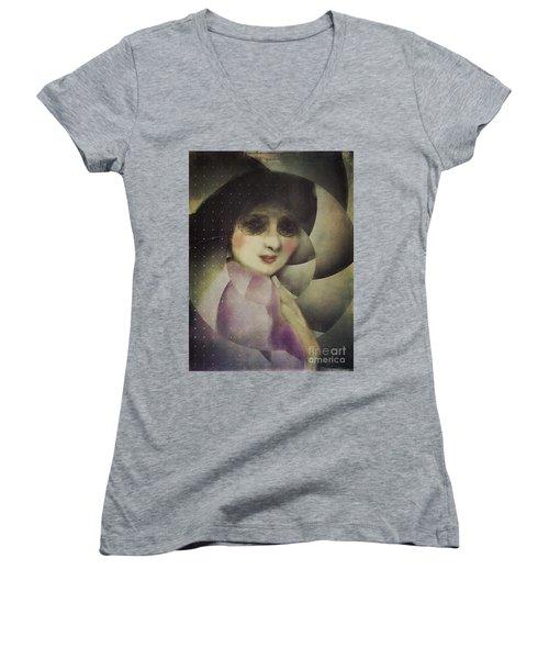 Anticipation Women's V-Neck T-Shirt