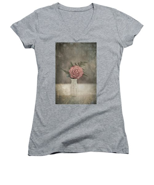 Antiquated Romance Women's V-Neck T-Shirt
