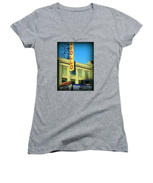 Apollo Vignette Women's V-Neck T-Shirt