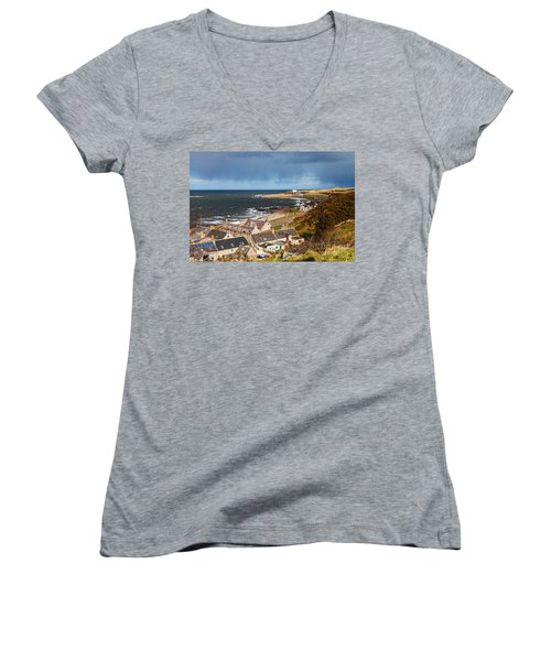 Approaching Rain Women's V-Neck T-Shirt