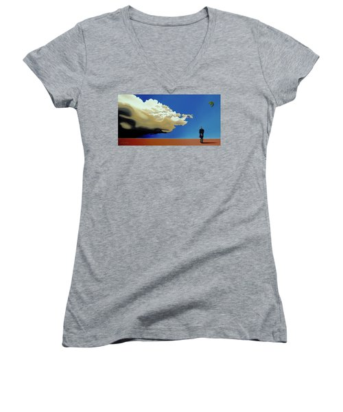 Approaching Storm Women's V-Neck