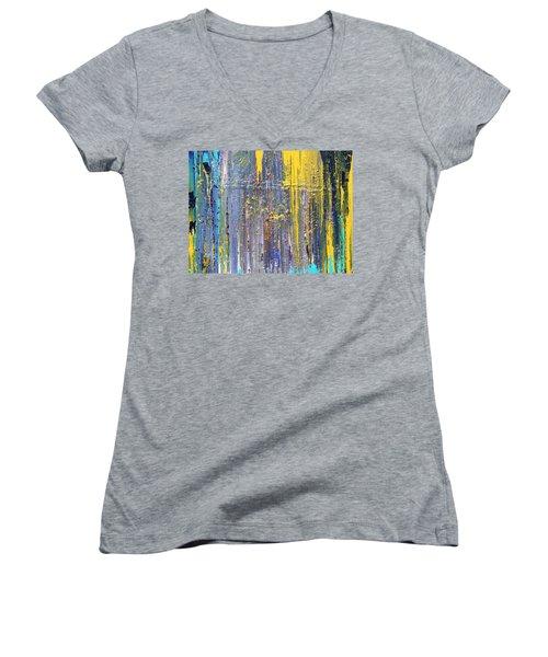 Arachnid Women's V-Neck T-Shirt (Junior Cut) by Ralph White