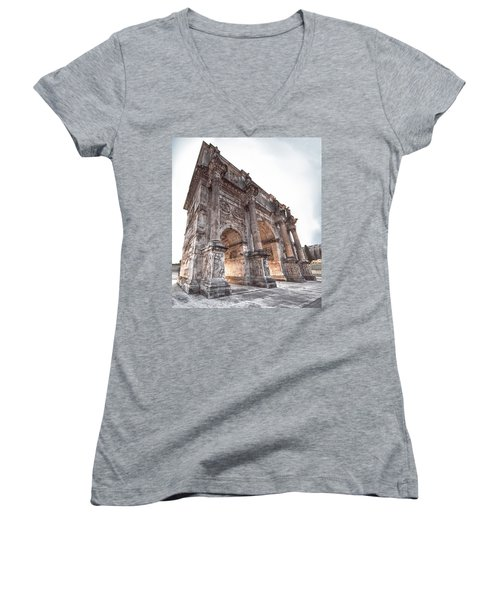 Arch Of Constantine Women's V-Neck