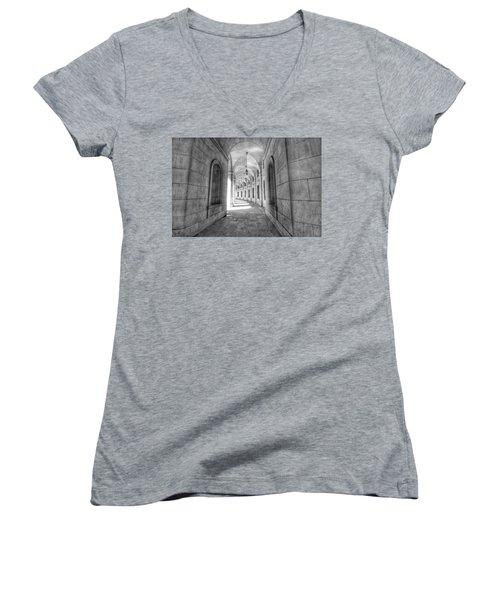 Arched Women's V-Neck