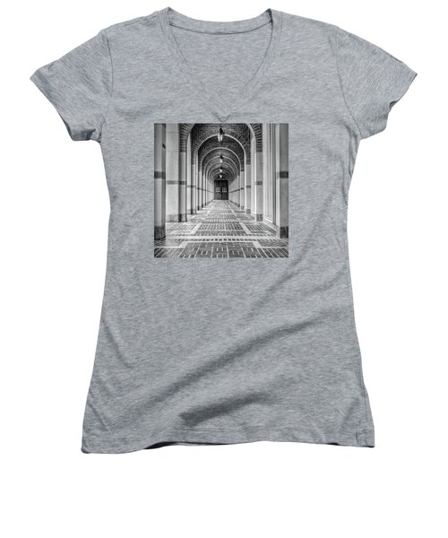 Arched Walkway Women's V-Neck