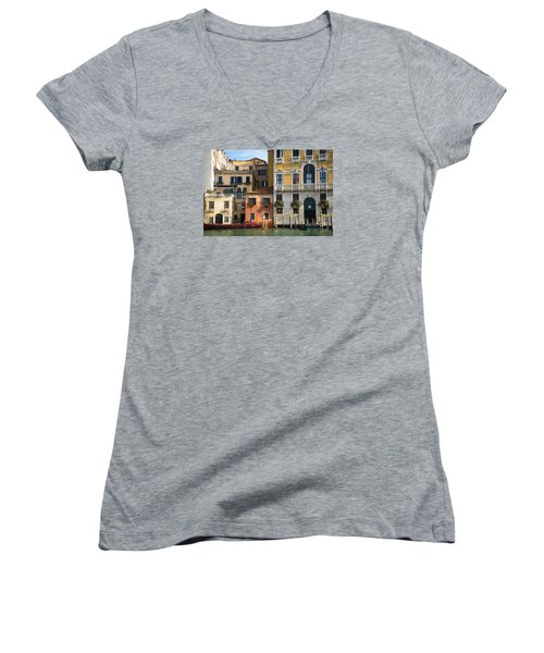Architecture Of Venice - Italy Women's V-Neck T-Shirt