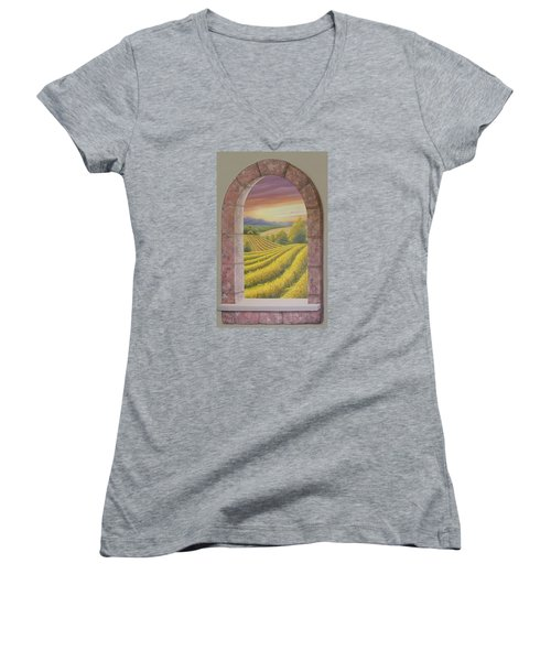 Arco Vinal Women's V-Neck T-Shirt