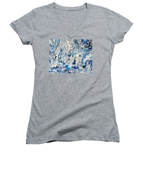 Arctic Frenzy Women's V-Neck