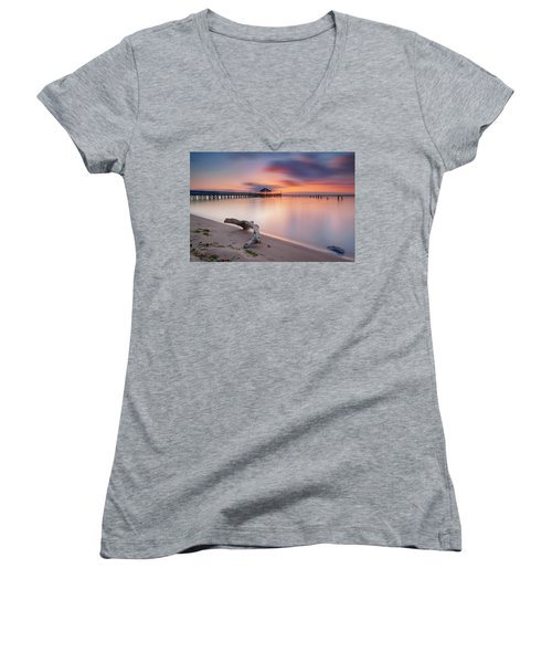Are We Predestined To Get What We Get Women's V-Neck