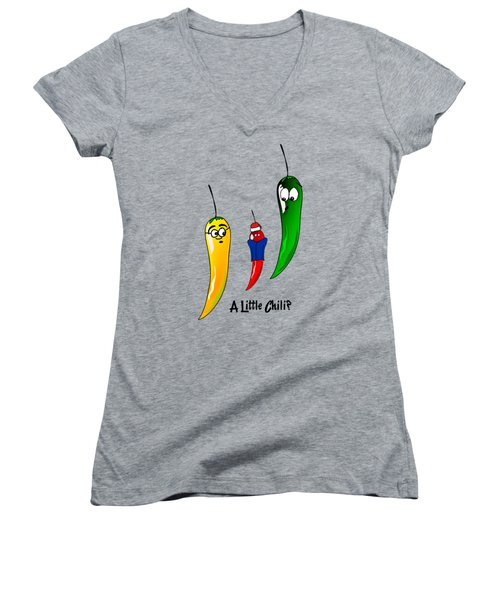 Are You A Little Chili Women's V-Neck