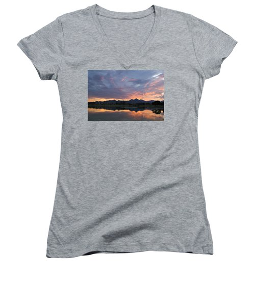 Arizona Sunset Women's V-Neck