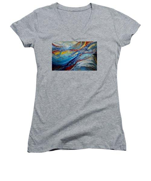 Arrive Women's V-Neck T-Shirt