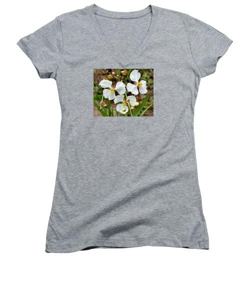 Arrowhead 3 Women's V-Neck T-Shirt (Junior Cut) by Audrey Van Tassell