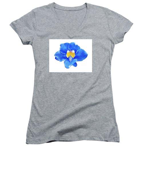 Art Blue Beauty Women's V-Neck (Athletic Fit)