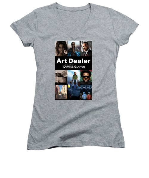 Art Dealer Promo 1 Women's V-Neck