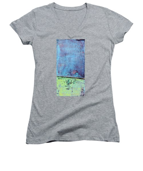 Art Print Sierra 14 Women's V-Neck (Athletic Fit)
