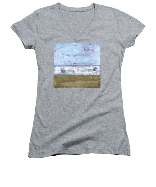 Art Print Sierra 2 Women's V-Neck (Athletic Fit)