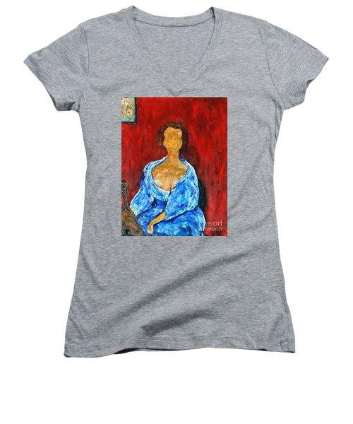 Art Study Women's V-Neck
