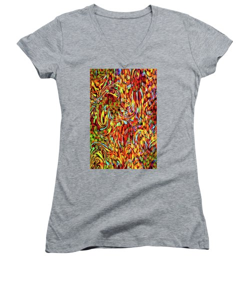 Artistic Flair Women's V-Neck (Athletic Fit)