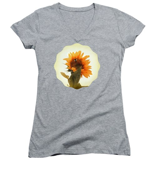 Bee Mine - Paint Women's V-Neck (Athletic Fit)