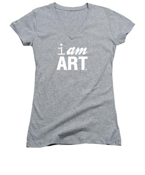 I Am Art- Shirt Women's V-Neck