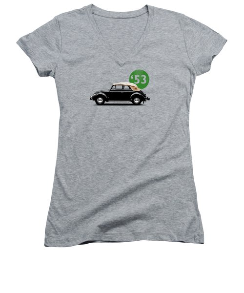 Beetle 53 Women's V-Neck T-Shirt