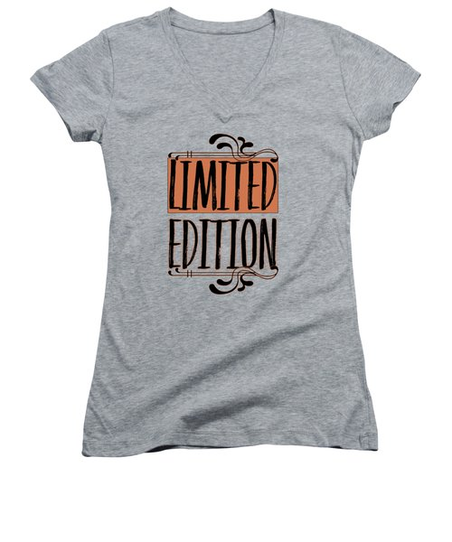 Limited Edition Women's V-Neck T-Shirt