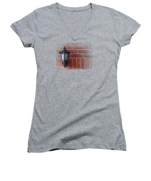 Lantern Women's V-Neck T-Shirt (Junior Cut) by Ivana Westin