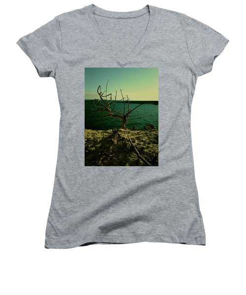 The Tree Women's V-Neck