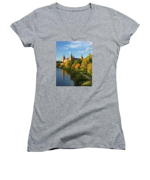 Aschaffenburg Bavaria 1 Women's V-Neck T-Shirt