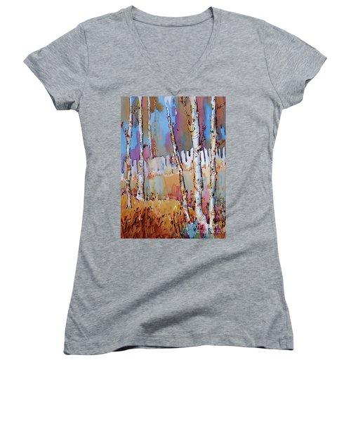 Aspen Fantasy Women's V-Neck T-Shirt