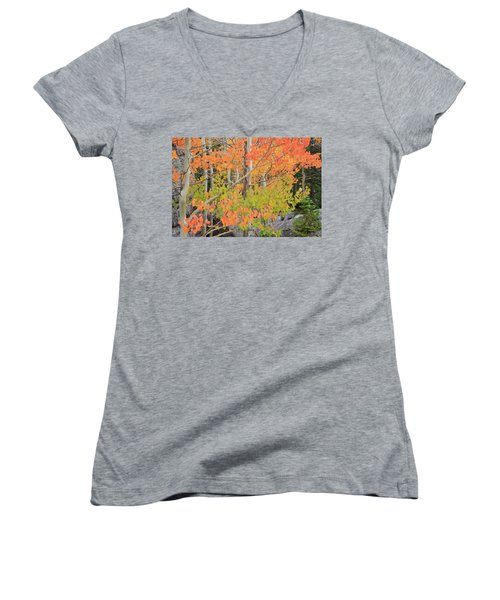 Aspen Stoplight Women's V-Neck T-Shirt