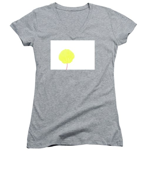 Aspen Yellow Women's V-Neck