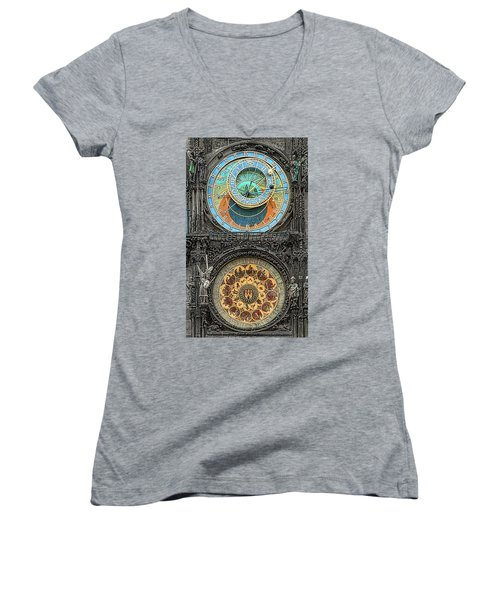 Astronomical Hours Women's V-Neck (Athletic Fit)