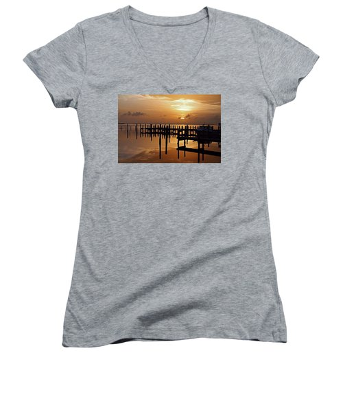 At Day's Close Women's V-Neck