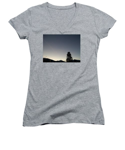 At Dusk Women's V-Neck T-Shirt