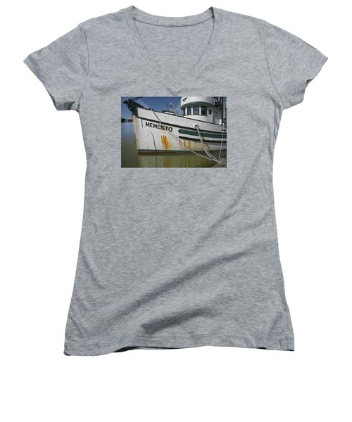 At The Dock Women's V-Neck (Athletic Fit)