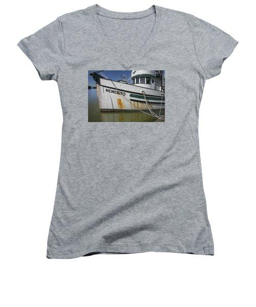 At The Dock Women's V-Neck T-Shirt